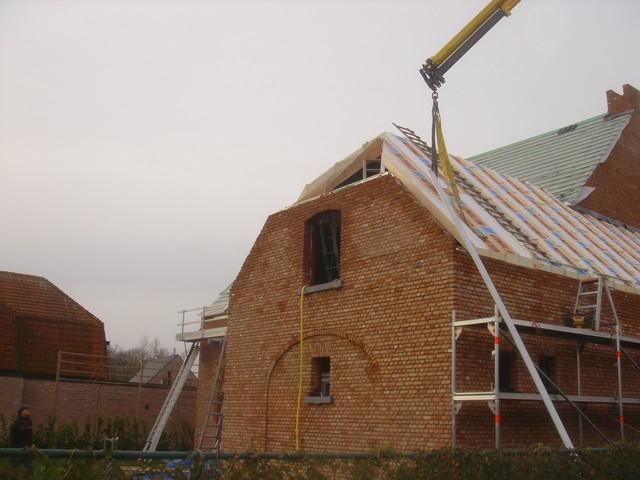 Daktimmer nieuwbouw 2