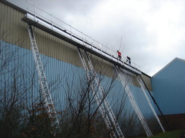 Renovatie goten fabriekshal